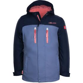 TROLLKIDS Bryggen 3in1 jakke Piger, blå